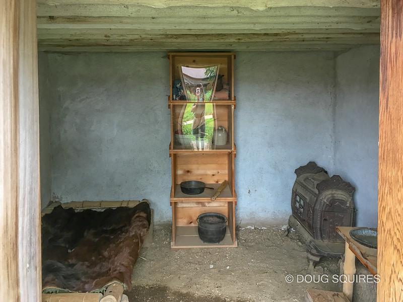 Underground hut, Laura Ingalls Wilder Museum
