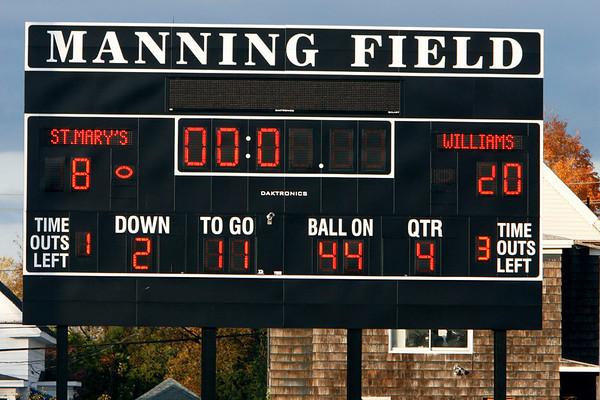 ArchieBills JV vs St. Marys Oct 24, 2006 @ Manning Bowl