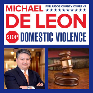 2018 MICHAEL DE LEON FOR JUDGE
