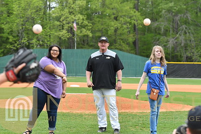2018-04-18 BB Booneville Middle School First Pitch