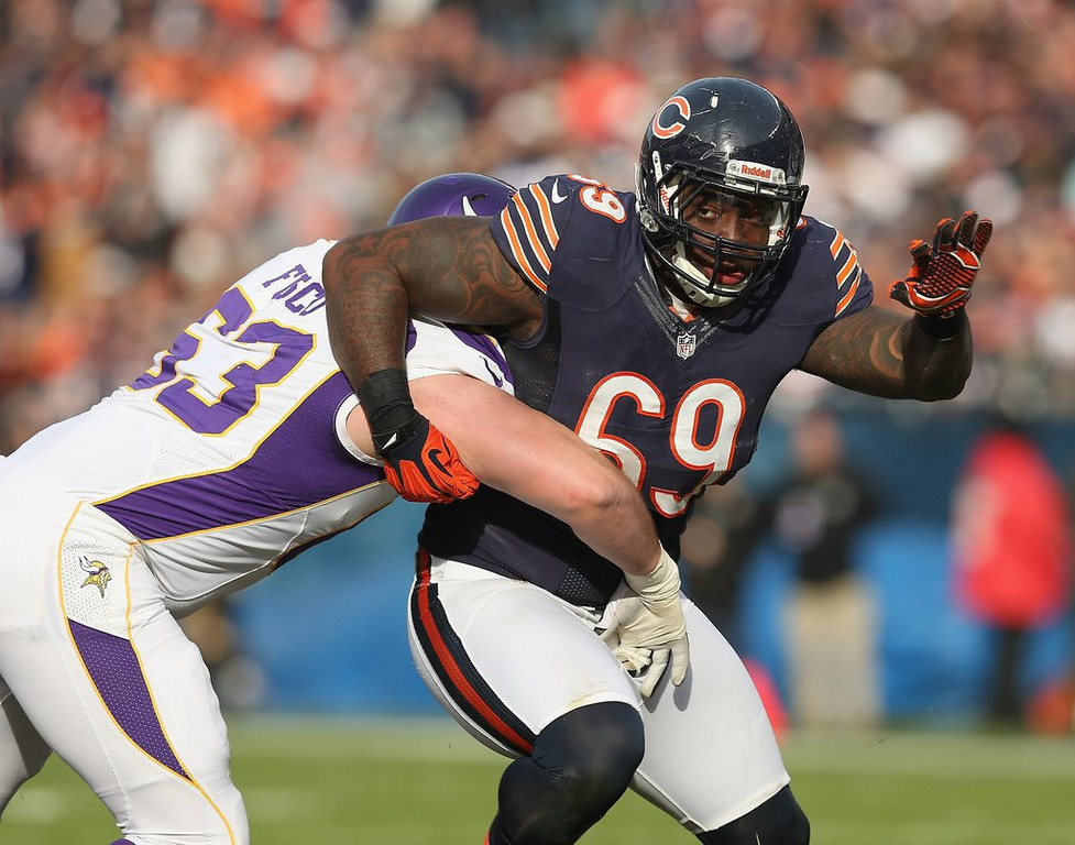 ". <p>7. HENRY MELTON <p>Could have added some bite to the Vikings� defensive line. Kidney bites. (unranked) <p><b><a href=\'http://www.twincities.com/vikings/ci_25366525/vikings-competition-signing-henry-melton-heats-up\' target=""_blank\""> HUH?</a></b> <p>    (Jonathan Daniel/Getty Images)"