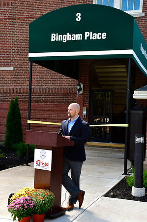 9/18/2019 Mike Orazzi | Staff rCity of Bristol Economic Development Executive Director Justin Malley Bingham Place in Bristol.