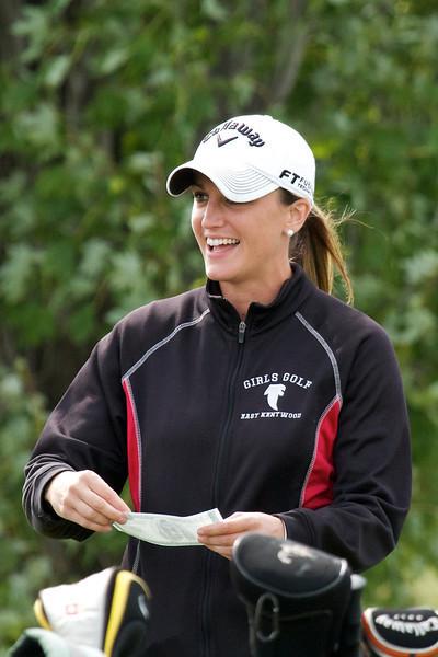 2011, Sept 7 East Kentwood Girls Golf vs Jenison