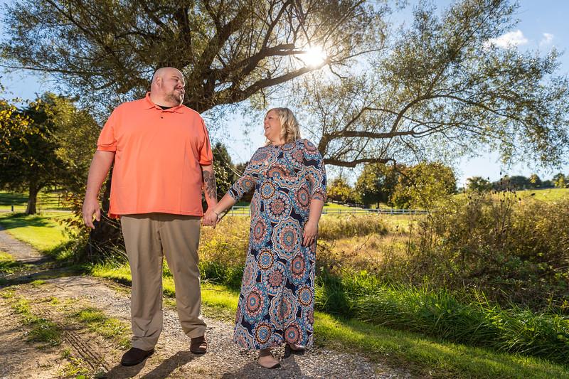 Keston & Paul | Engagement Session at Rockbridge Vineyard