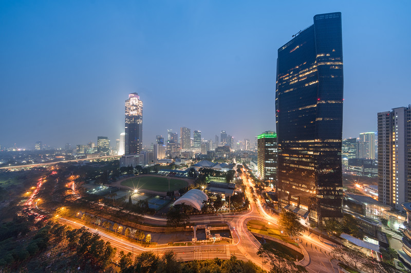 Bakrie Tower from Aston Rasuna hotel