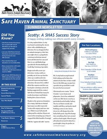 Newsletter-SHAS Summer 05