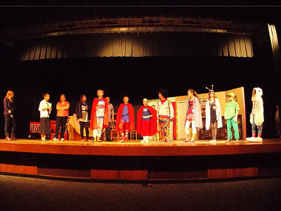 """Superhero's"" Jr. High 2013 Play"