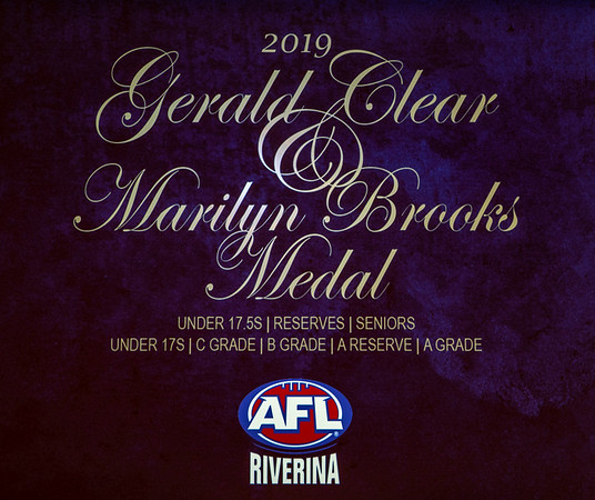 Gerald Clear and Marilyn Brooks Medals