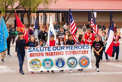 Benito Martinez Veterans Day Parade