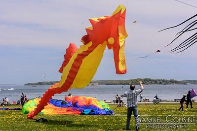 Bug Light Kite Festival 5/21/16
