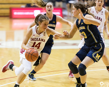 Indiana University Women Basketball vs. Michigan Wolverines