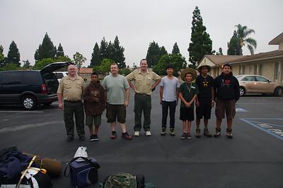 Sierras/Hamilton Lakes - 8-13 Aug 2011