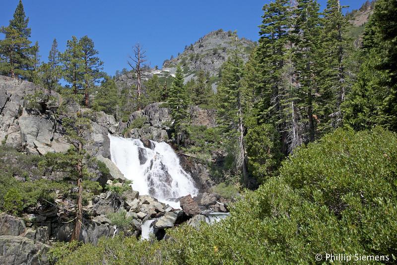 Upper Glen Alpine falls