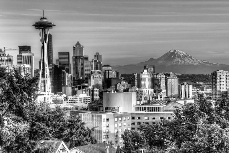 Seattle & Mt Rainier