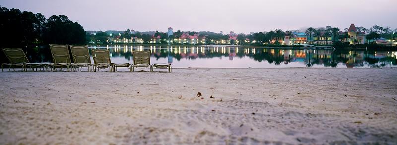 Caribbean Beach Resort Beach Chair  Panorama