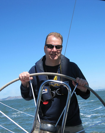 September 09: Sailing Under the Bay Bridge