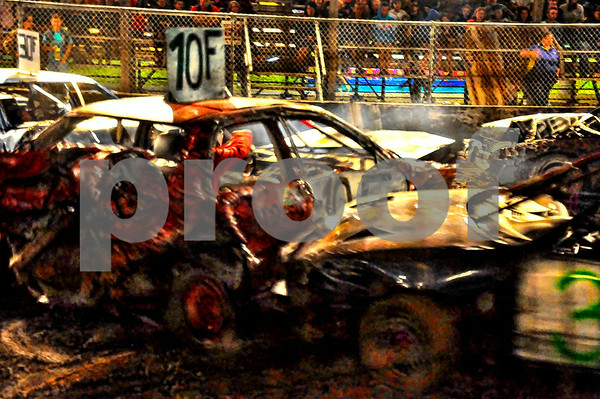 Friday Nite Demolition Derby 2013