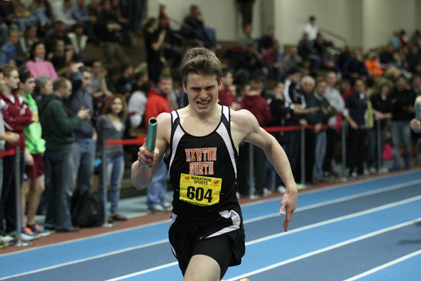 4x400m Relay -- 2013 MIAA Indoor Track All-State Championship