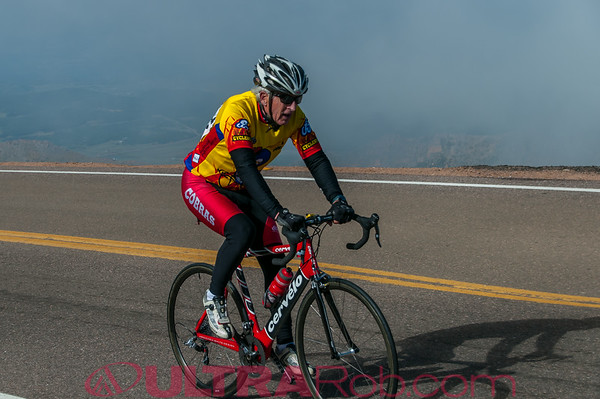 Pikes Peak Cycling Hill Climb 2014