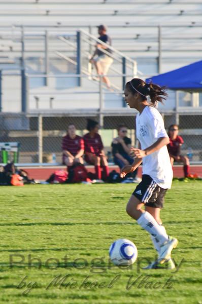 2012 Dixon Varsity Girls vs West Campus