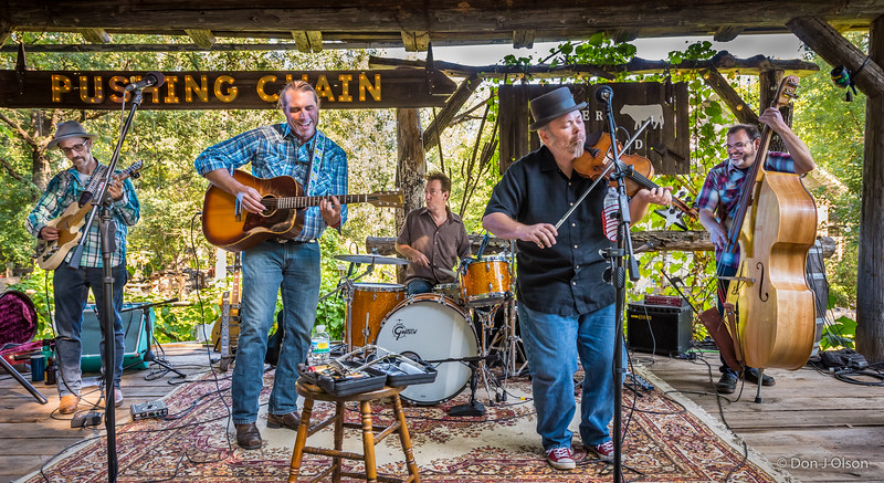 Pushing Chain CD release @ Rieder Homestead