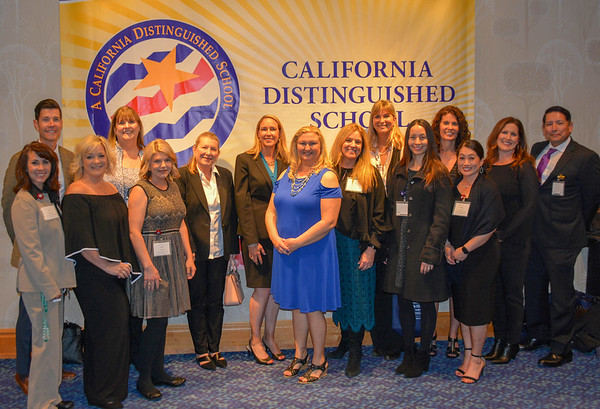 California Distinguished School Award Ceremony
