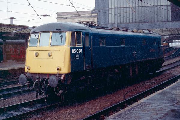 British Rail in Spring 1989