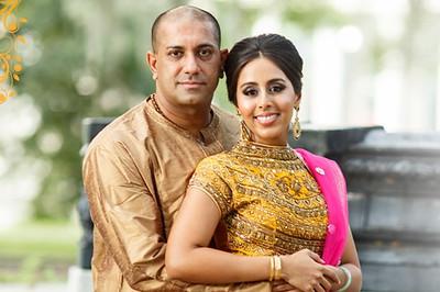 Sumitha & Manish 10/29/16