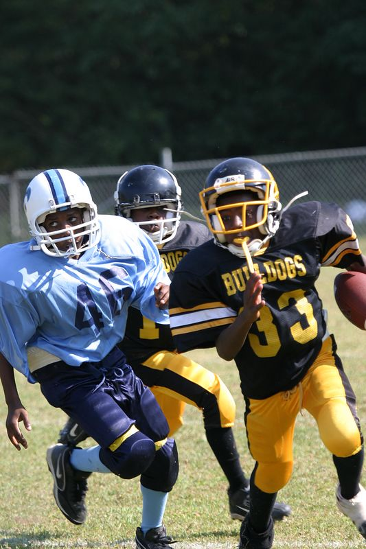 South Dekalb Saints vs Rock Chapel Bulldogs 12U 9-25-04