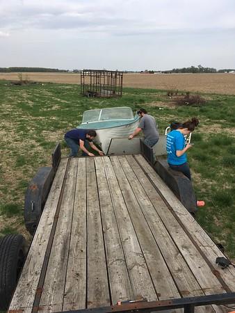 Getting the Boat - Bar Progress