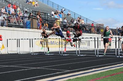 D2 Extra Hurdles Photos - 2013 MHSAA LP Track Finals
