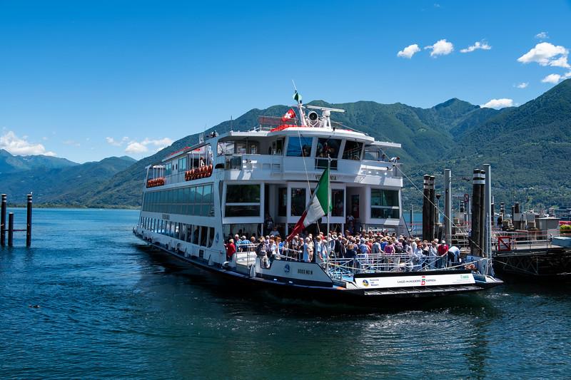 Verbania Ferry, Lucerne