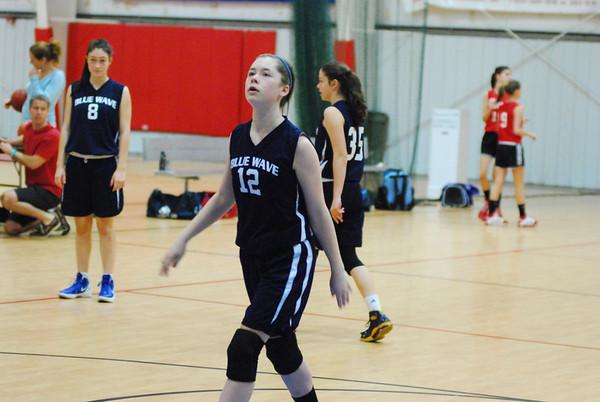 2012-04-15 Girls Basketball Blue Wave vs AOB 2