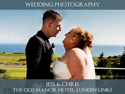 Jess & Chris - The Old Manor Hotel, Lundin Links - Wedding Photography