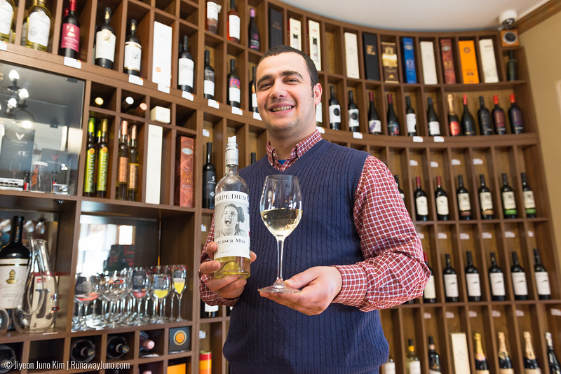 Wine tasting at Carpe Diem Wine Shop