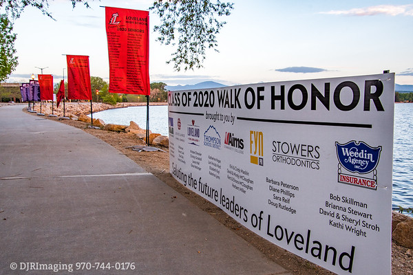 Class of 2020 - Senior Banners @ Lake Loveland  05/23/2020