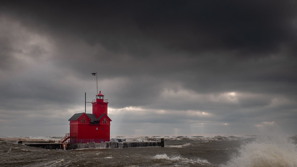 Stormy Lake Michigan (2019-02-24)