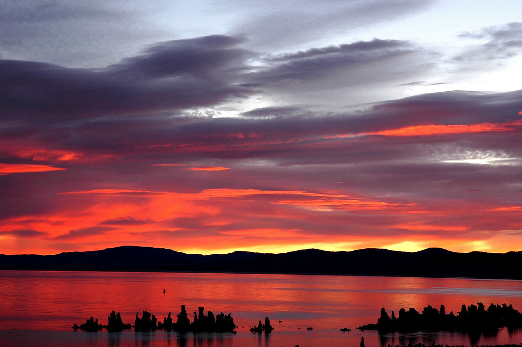 Summer Sunrise, Mono Lake