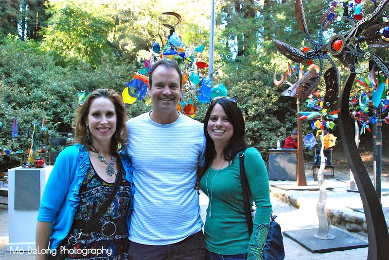 Christine Hildebrand, Austin Grose and Lauren Travers