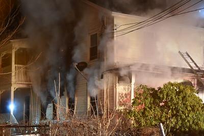 2 Alarm Dwelling Fire - 162 Hobart St, Meriden, CT - 3/6/21