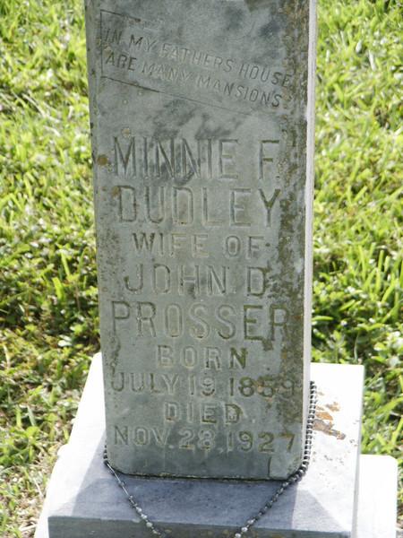 Minnie F. Dudley