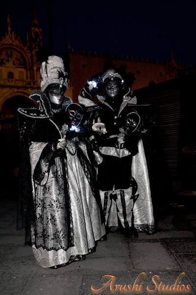 The masks are of different types and were popularized in dramas in the medieval times.