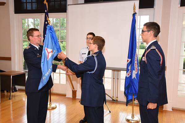 June Change of Command and Awards