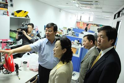 20100507 福州市經貿文化交流團參訪