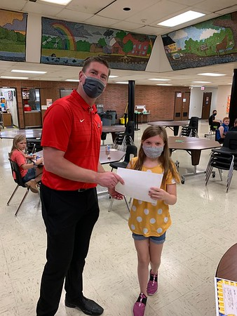 May Student of the Month Breakfast