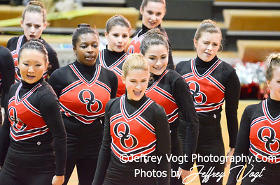 01-12-2013 Quince Orchard HS Poms at Damascus HS Division 2, Photos by Jeffrey Vogt Photography