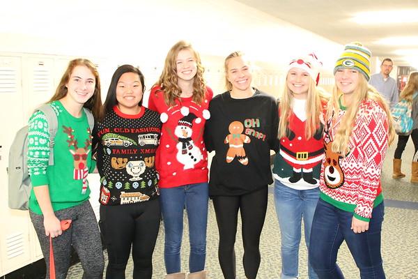 Christmas Sweater Day - KCHS - 12/15/17