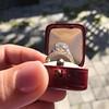 2.23ct Old European Cut Diamond Edwardian Solitaire GIA I VS1 7