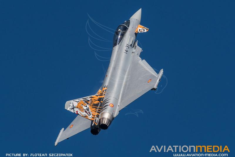 Spanish Air Force Ala 14 / Eurofighter Typhoon / C.16-73 14-31 / Tigermeet Livery
