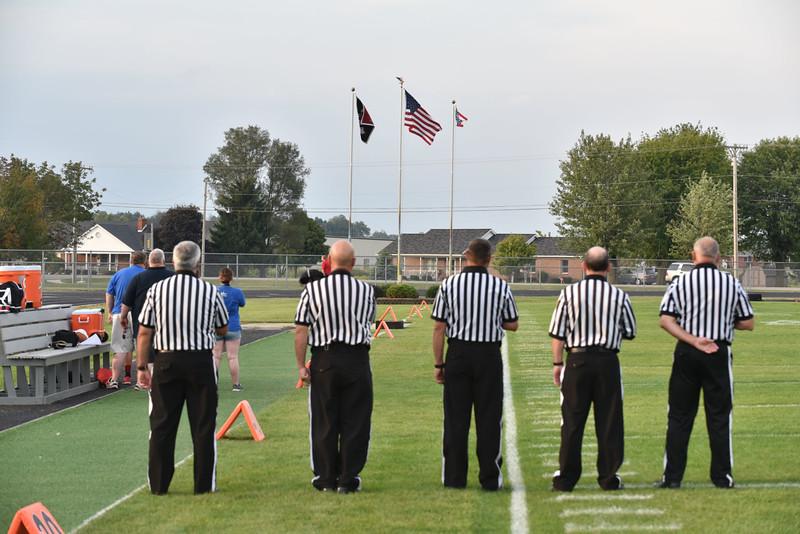 Fort Loramie Football 09-18-2015